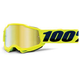 100% Accuri Anti-Fog Goggles Gen2 Youth, amarillo